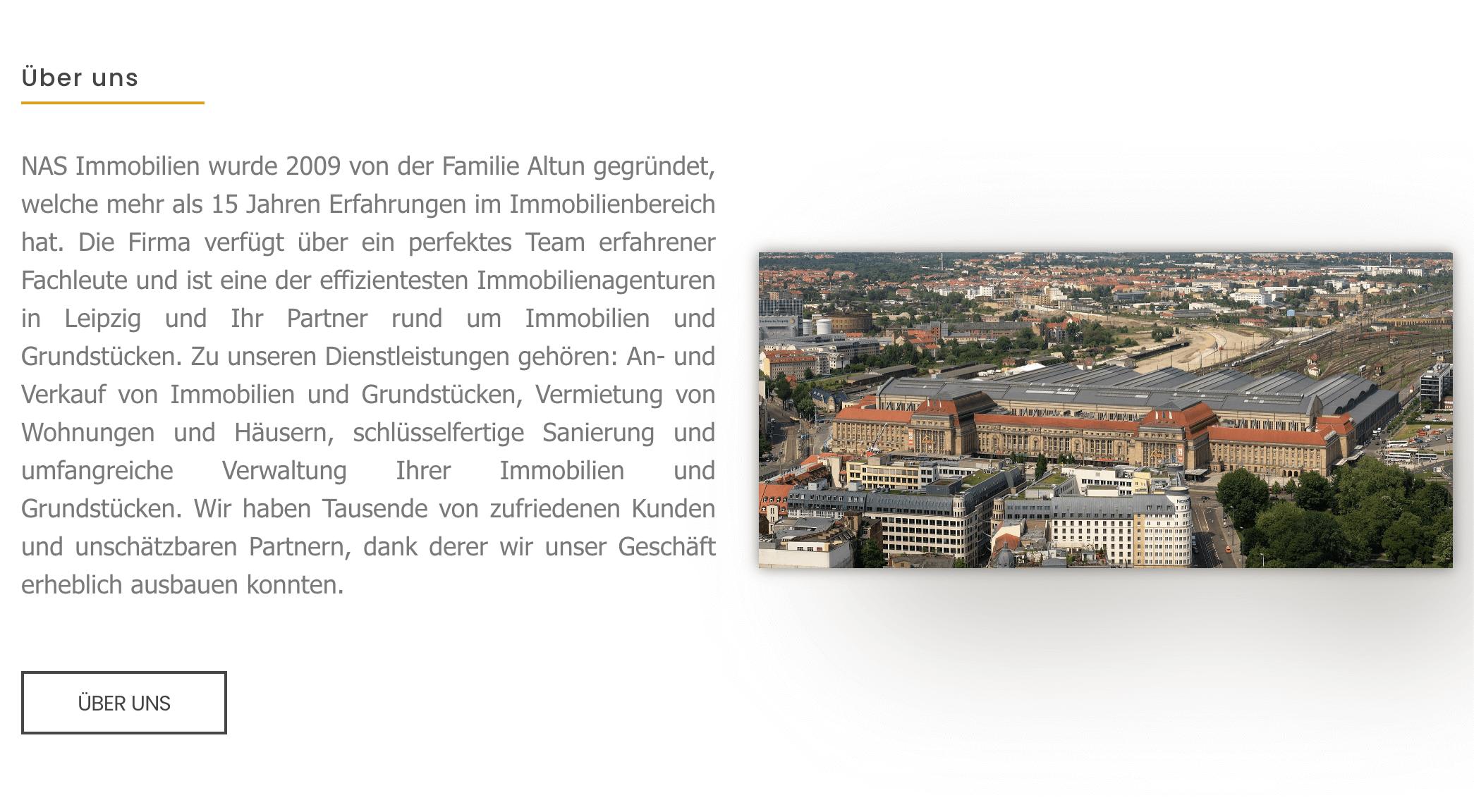 NAS-Immobilien-Screenshot